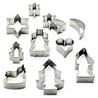 10 Tin-plate Shape Cutters