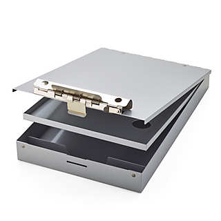 Aluminum Clipboard Box | Desk Supplies
