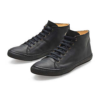 Ankle-high Leather Leisure Shoe | Shoes