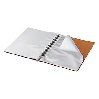 Atoma Clear Sheet Protector Binder  | Paper, Pads & Notebooks
