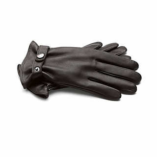 Black Deerskin Gentlemen's Gloves  | Accessories
