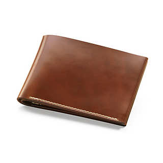 Cognac Cordovan Gentlemen's Wallet  | Accessories