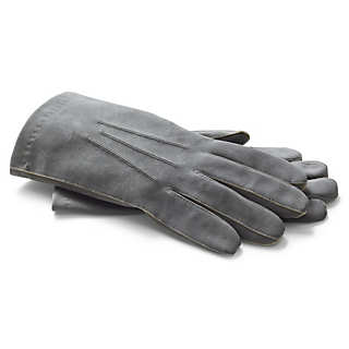 Coloured Deerskin Officer's Gloves  | Accessories