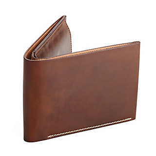 Cordovan Men's Wallet with Coin Purse  | Accessories