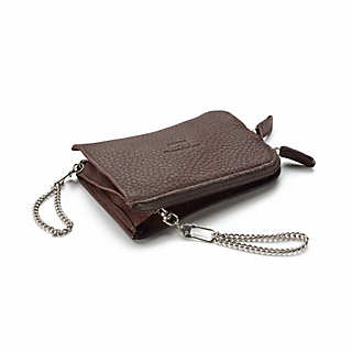Double Elk-Leather Key Purse  | Accessories