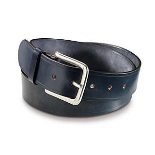 English Saddle Leather Belt by Kreis  | Accessories