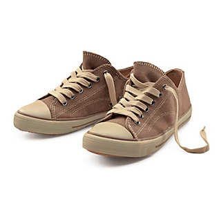 Flat Rubber Sole Hemp Sneaker | Shoes