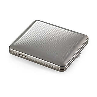 Flat Steel Cigarette Case  | Accessories