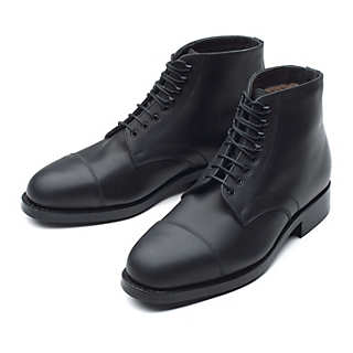 Gentlemen´s Lambskin-Lined Cavallo Half-Boot | Shoes