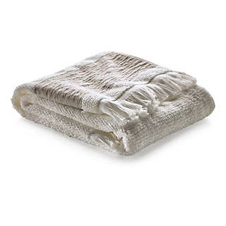Hand Towel with Linen Border   Towels