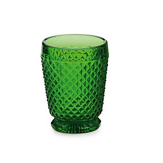 Honeycomb Patterned Machine-Pressed Glasses | Tableware