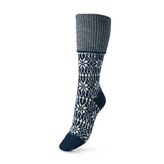 Jacquard Knee High Socks  | Underwear & Socks