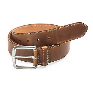 Kreis Natural Oil-Tanned Leather Belt  | Accessories
