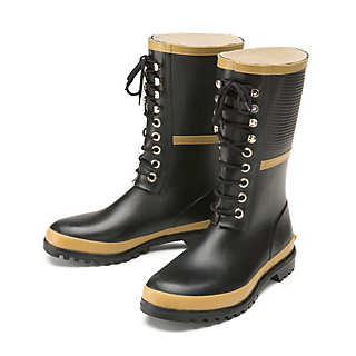 Lace-up Rubber Boots | Shoes