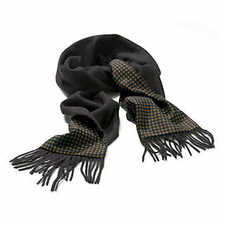 Laco Camel-hair and Silk Gentlemen's Reversible Scarf  | Accessories
