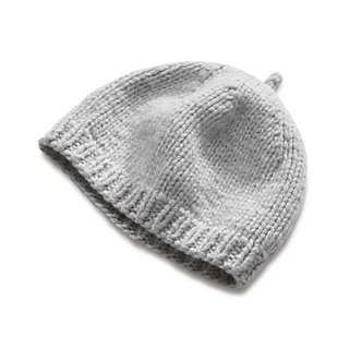 Ladies' Hand-Knitted Lambswool Cap  | Accessories