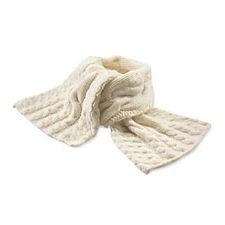 Ladies' Hand-Knitted Lambswool Scarf  | Accessories