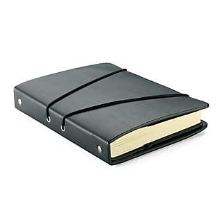 Leather and Binding Cloth Notebook    Paper, Pads & Notebooks