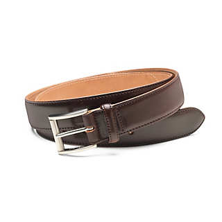 Men's Narrower Horse Leather Belt  | Accessories
