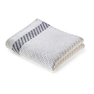 Piqué Quilted Jacquard Hand Towel From Leitner   Towels