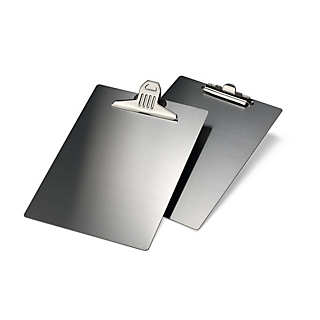 Stainless Steel A4 Clipboard with Large Clip | Desk Supplies