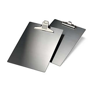 Stainless Steel A4 Clipboard w | Magnetic Boards and Magnets
