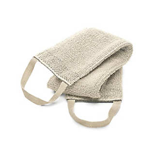 3-Ply Linen Back Scrubber pale | Towels