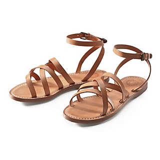 Women's Cowhide Strap Sandal | Shoes