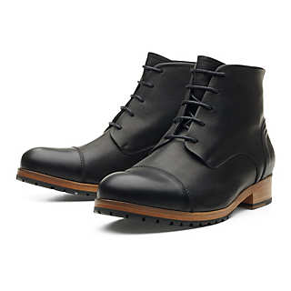 Zeha ankle high men's shoes made of cow leather   Shoes