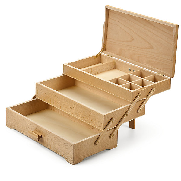 Sewing Box with 3 Drawers - Manufactum