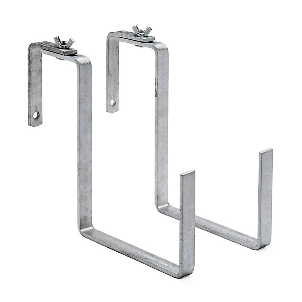 2 galvanized steel balcony box brackets manufactum. Black Bedroom Furniture Sets. Home Design Ideas